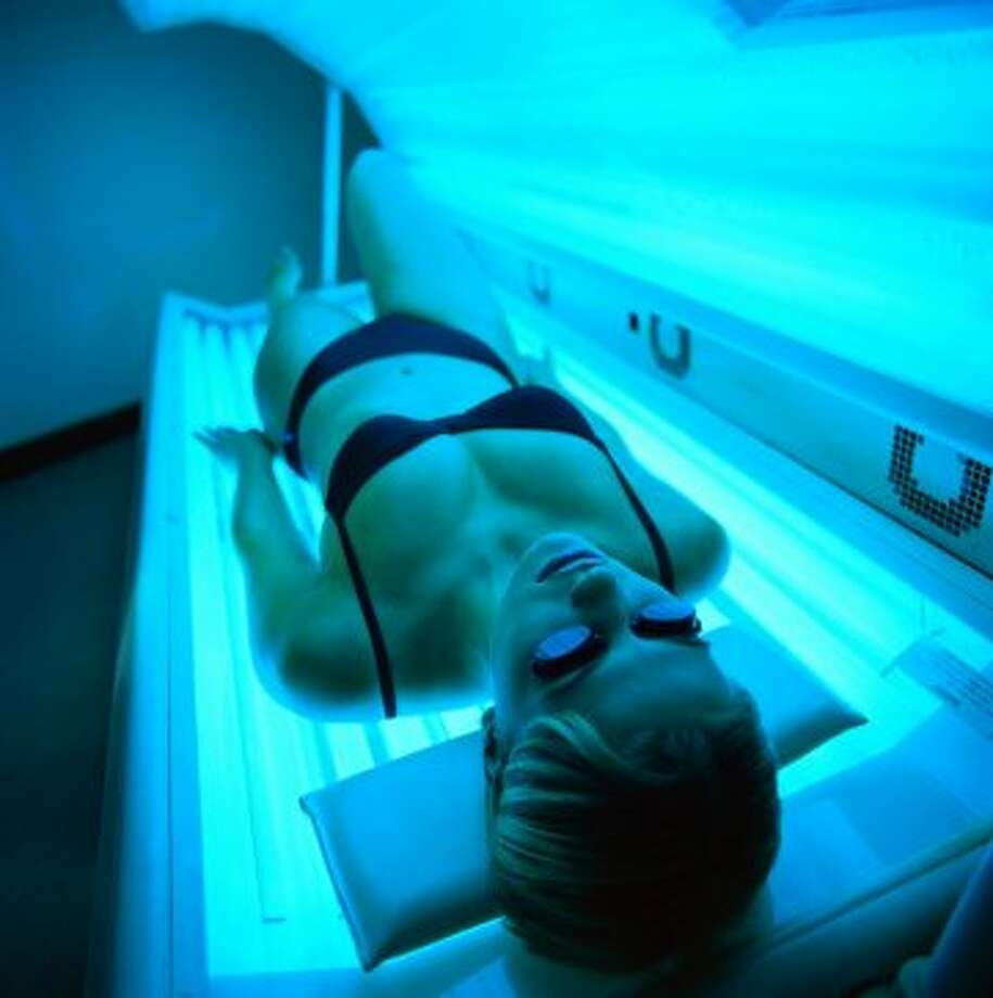 Shreveport, Louisiana: tanning; fat/cellulite reduction procedures Photo: Stockbyte, Getty Images