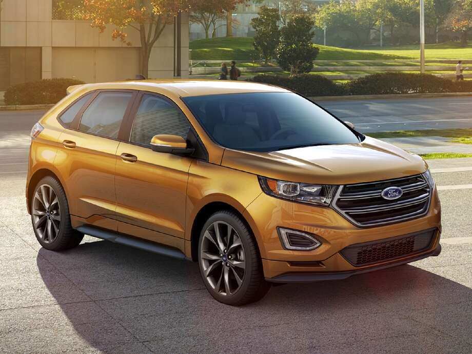 The new 2015 Edge is slightly larger than the model it replaces, but retains its familiar four-door, five-seat configuration.