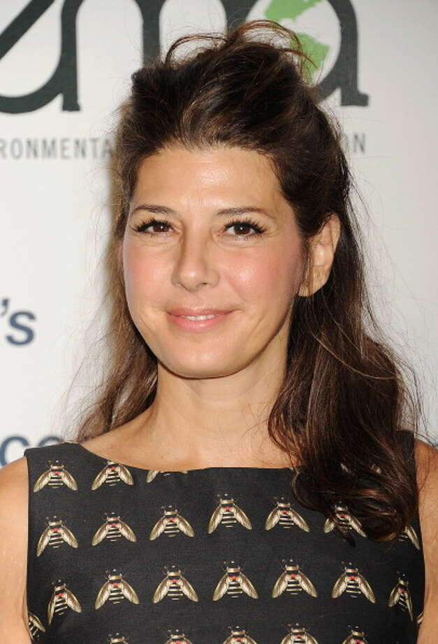 Oscar-winner Marisa Tomei (b: 1964) has been linked to Robert Downey Jr., Christian Slater, and Lenny Kravitz. Photo: Jeffrey Mayer, Getty Images / 2013 Jeffrey Mayer