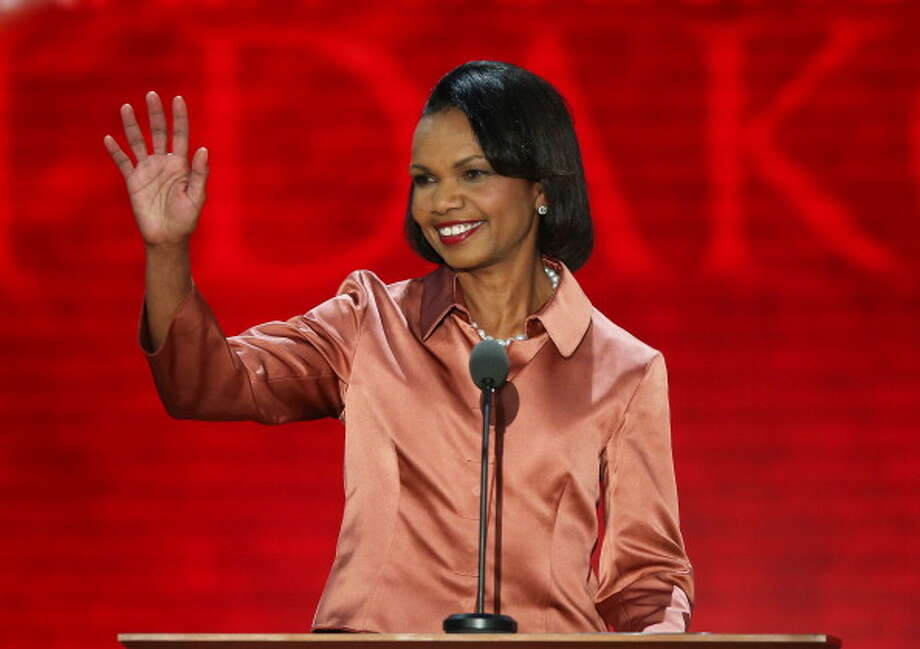 Former Secretary of State Condoleeza Rice (b: 1954) has never been married. Rice was engaged to NFL player Rick Upchurch in the 70s, but the relationship didn't work out. Photo: Mark Wilson, Getty Images / 2012 Getty Images