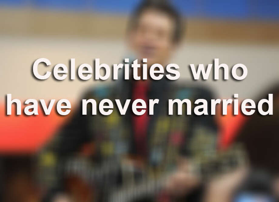 Do you think that the idea of marriage is becoming too old fashioned? According to Ranker.com, here is a list of celebrities who have never married.  / 2011 Getty Images