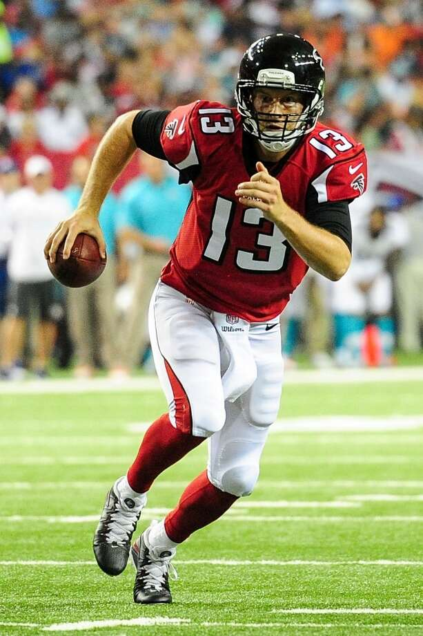 T.J. Yates, QB New team: Falcons Drafted by the Texans in the 5th round (152nd overall) of the 2011 NFL draft. Played in 13 games as a Texan while making 5 starts. 2-3 record and 101 completions on 166 attempts with 1,100 yards 3 TDs and 6 INTs. The Texans host the Falcons on Saturday night in a preseason game. Photo: Scott Cunningham, Getty Images