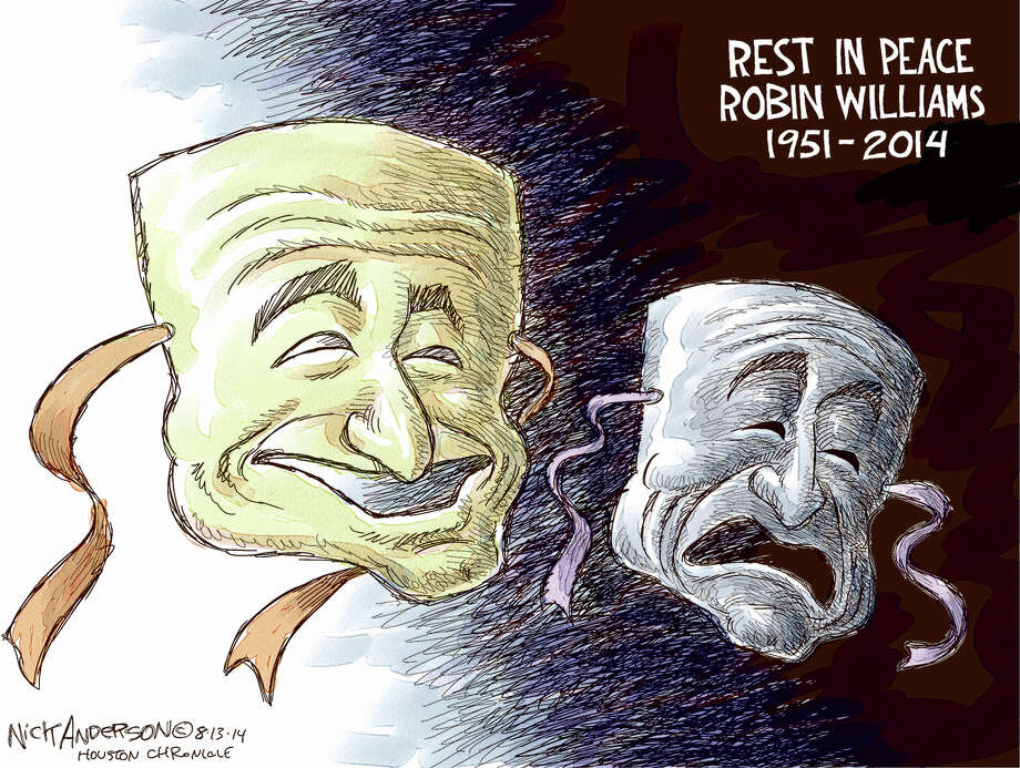 Robin Williams Photo: Nick Anderson