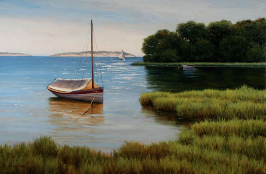 Cape Cod artist Ronald Tinney's work will be on display at Sorelle Gallery, 84 Main St., New Canaan, from Aug. 16 to Sept. 4. Photo: Contributed Photo, Contributed / New Canaan News Contributed