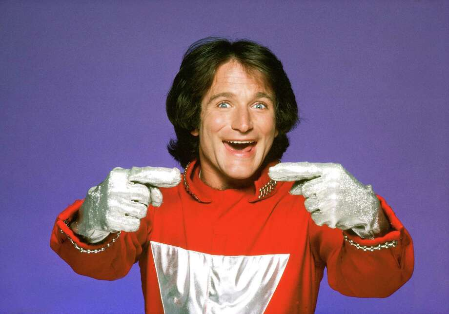 "The character of Mork, an alien from the planet of Ork, became so popular from an episode of ""Happy Days"" that it was spun off into the series ""Mork and Mindy"" starring Robin Williams. Photo: Jim Britt, Contributor / ONLINE_YES"