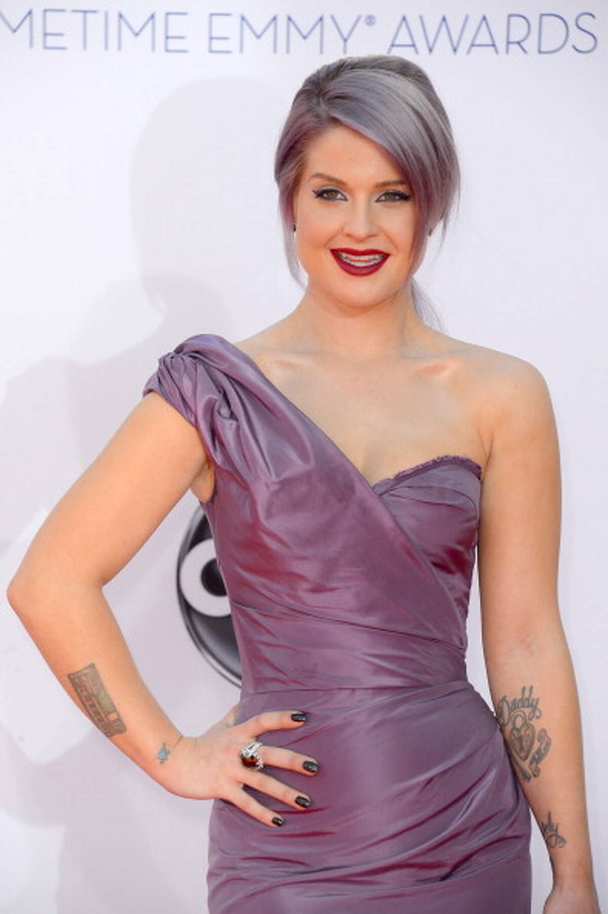 Famous for being famous, Kelly Osbourne.