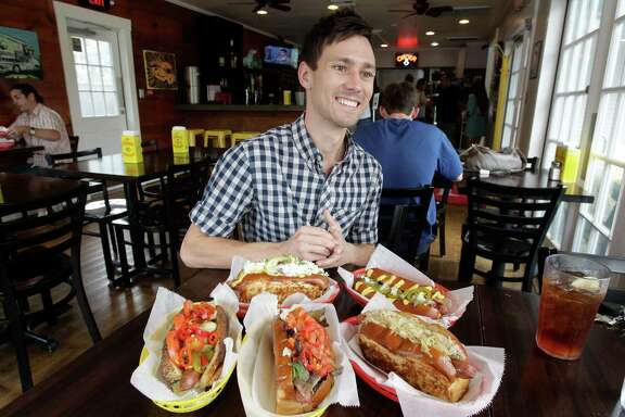 """I had a blast researching what people are eating in different cities. Just seeing how different the hot dog is (from) one city to the next was interesting,"" says Russell van Kraayenburg, at Good Dog Houston, 903 Studewood."