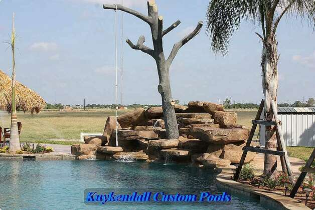 World 39 S Largest Backyard Swimming Pool Gives Texas Home A Tropical Feel Beaumont Enterprise