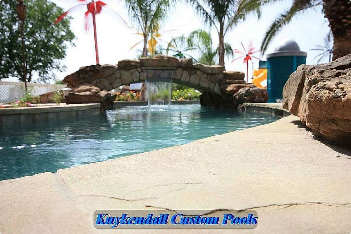 World's largest backyard swimming pool gives Texas home a ...