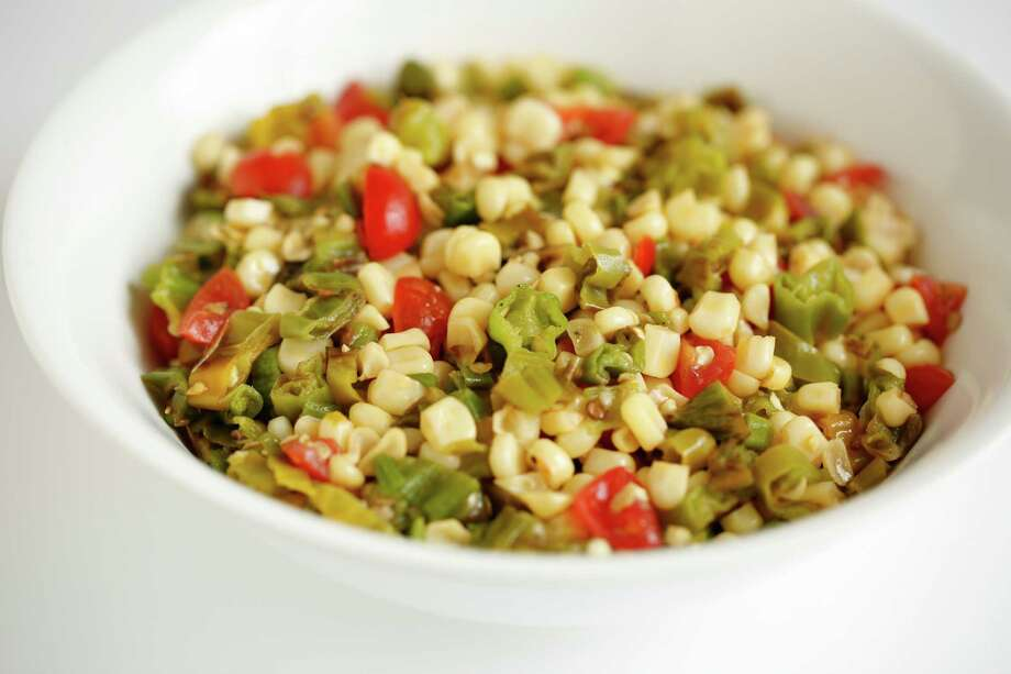 Shishito Pepper & Corn Relish. Photo: Russell Yip, Staff / ONLINE_YES
