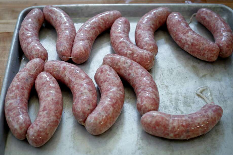 """My love is the art and science of making sausage, Farr says. Photo: Russell Yip, Staff / ONLINE_YES"