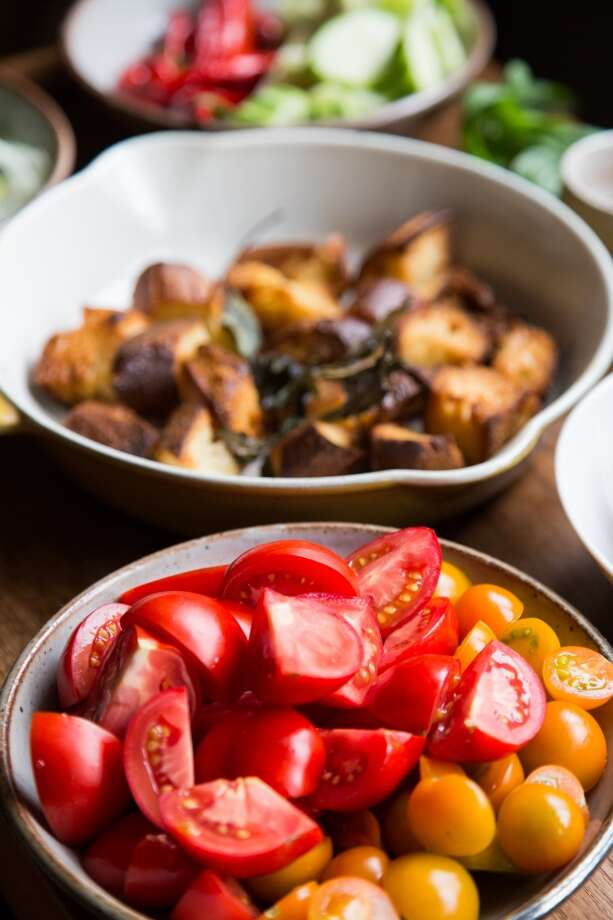Tomatoes, levain. Photo: Jason Henry, Special To The Chronicle