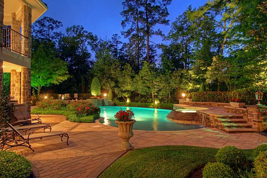 10 Hepplewhite: This 2005 home in The Woodlands has 4 bedrooms, 5.5 bathrooms, 8,213 square feet, and is listed for $2,550,000. Photo: Houston Association Of Realtors