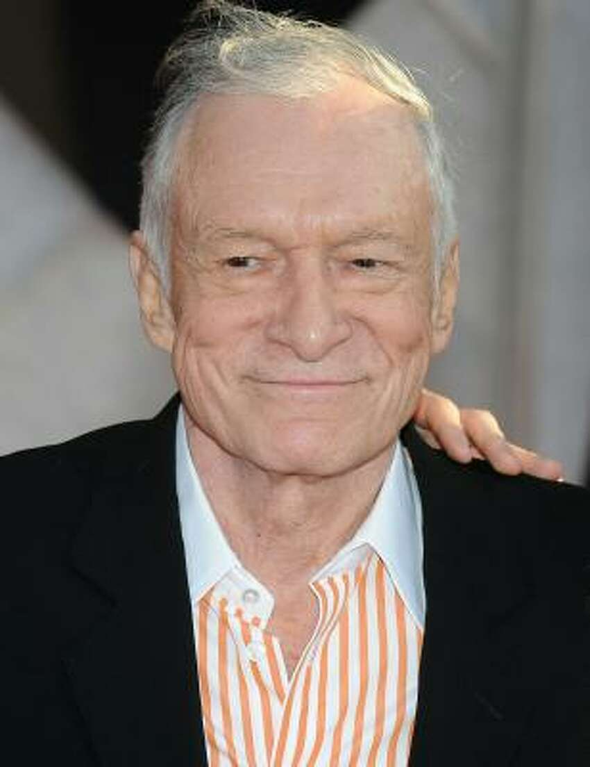 The man who started it all: Hugh Hefner. Hef founded Playboy in October of 1953.