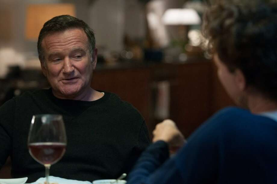 "10.  ""The Face of Love"" (2013):  Williams has a supporting role, as a man who has spent years in love with a woman, who prefers another man.  Though this is, in reality, a showcase for Annette Bening and Ed Harris' starring roles, the nakedness of Williams' emotions here make this worth seeing -- especially in hindsight. Photo: IFC Films"