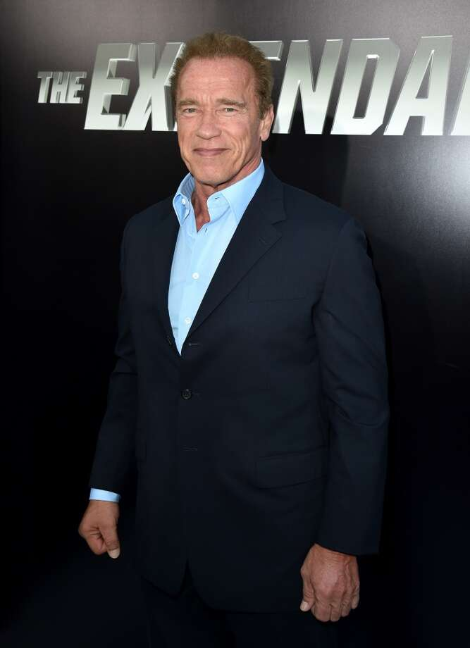"Actor Arnold Schwarzenegger attends the premiere of Lionsgate Films' ""The Expendables 3"" at TCL Chinese Theatre on August 11, 2014 in Hollywood, California. Photo: Kevin Winter, Getty Images"