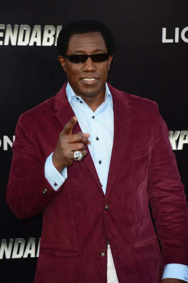 "Actor Wesley Snipes attends Lionsgate Films' ""The Expendables 3"" premiere at TCL Chinese Theatre on August 11, 2014 in Hollywood, California. Photo: Frazer Harrison, Getty Images"