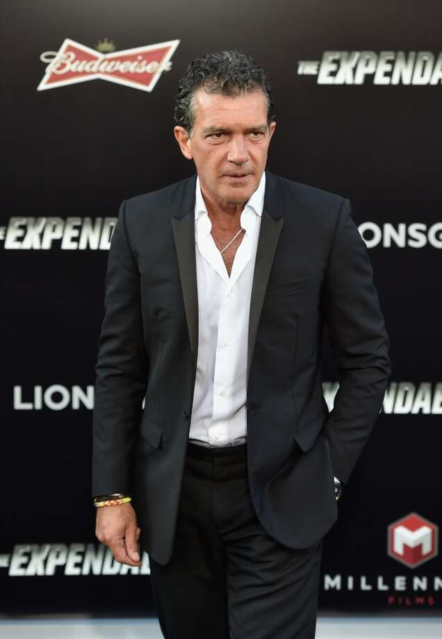 "Actor Antonio Banderas attends Lionsgate Films' ""The Expendables 3"" premiere at TCL Chinese Theatre on August 11, 2014 in Hollywood, California. Photo: Frazer Harrison, Getty Images"