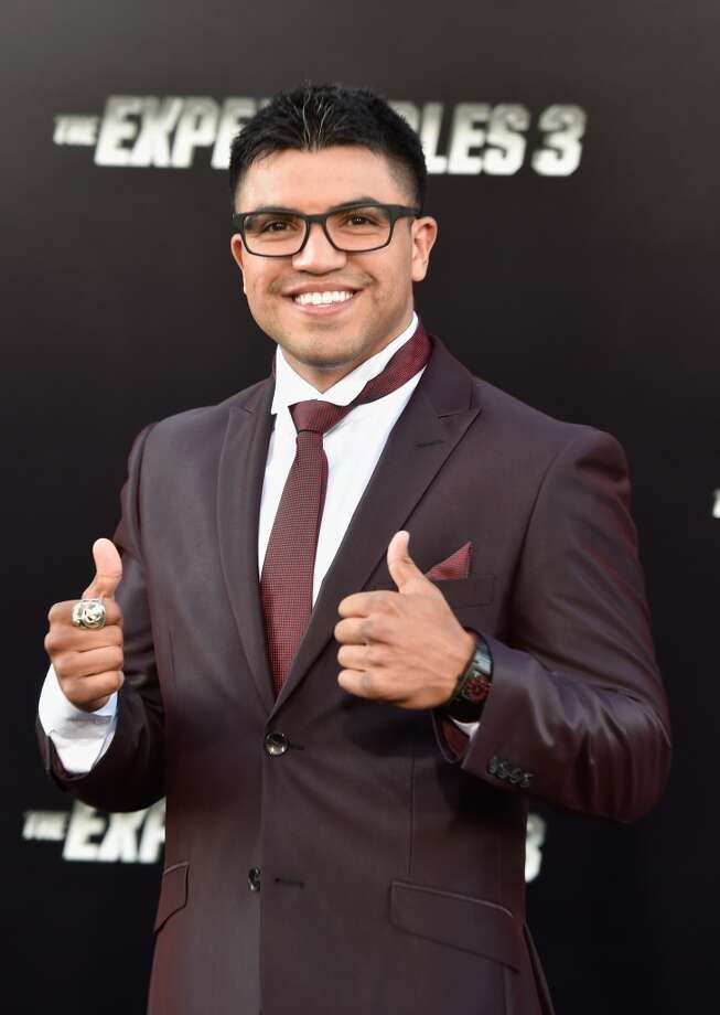 "Actor Victor Ortiz attends Lionsgate Films' ""The Expendables 3"" premiere at TCL Chinese Theatre on August 11, 2014 in Hollywood, California. Photo: Frazer Harrison, Getty Images"