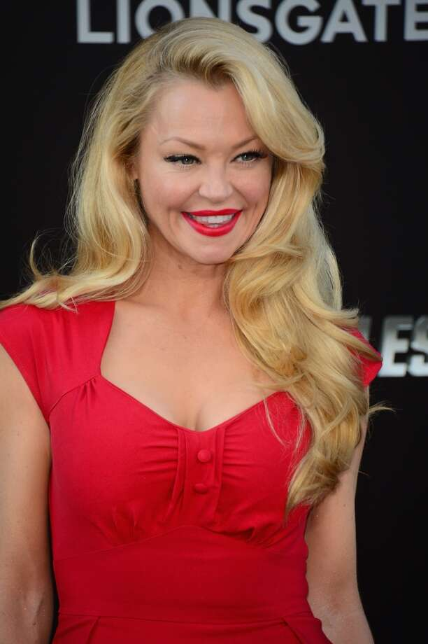 "Actress Charlotte Ross attends Lionsgate Films' ""The Expendables 3"" premiere at TCL Chinese Theatre on August 11, 2014 in Hollywood, California. Photo: Frazer Harrison, Getty Images"