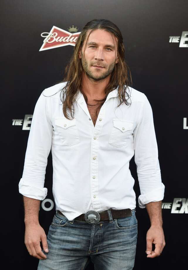 "Actor Zach McGowan attends Lionsgate Films' ""The Expendables 3"" premiere at TCL Chinese Theatre on August 11, 2014 in Hollywood, California. Photo: Frazer Harrison, Getty Images"