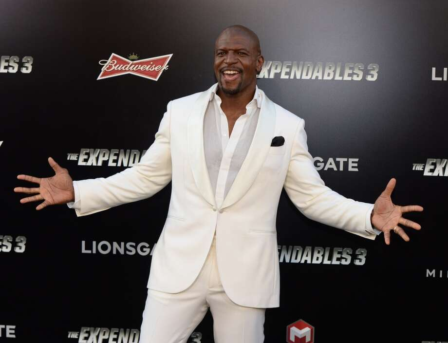 "Actor Terry Crews attends the premiere of ""The Expendables 3' at the TCL Chinese Theatre on August 11, 2014 in Hollywood, California. Photo: MARK RALSTON, AFP/Getty Images"
