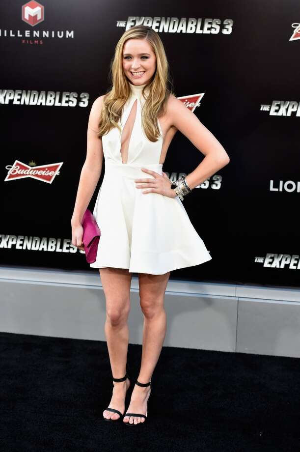 "Actress Greer Grammer attends Lionsgate Films' ""The Expendables 3"" premiere at TCL Chinese Theatre on August 11, 2014 in Hollywood, California. Photo: Frazer Harrison, Getty Images"
