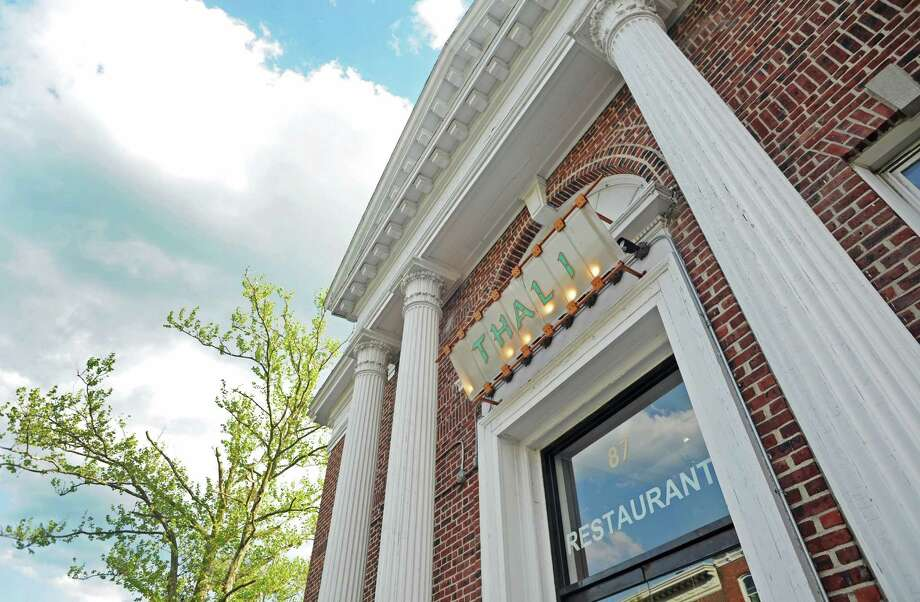 New Canaan's Thali restaurant, shown above, is participating in this year's Taste of the Town Stroll on Thursday, Aug. 21. Photo: Cathy Zuraw / Stamford Advocate