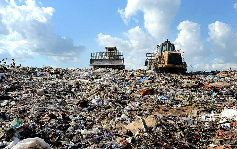 Waste Management has decided cancel its Beaumont service because of low participation rates and higher-than-usual contamination rates, a company spokeswoman said. This means more trash is headed to Beaumont's landfill, pictured. Photo: Guiseppe Barranco / Beaumont