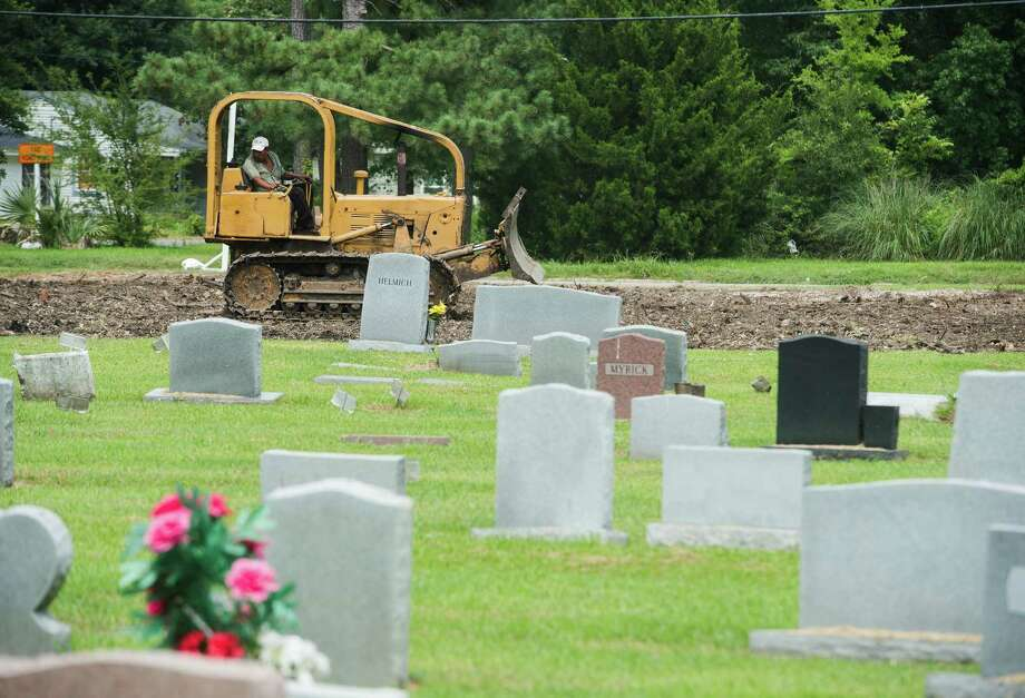 August 12: Beaumont City Council approved a plan to expand Greenlawn Cemetery by an additional 600 plots. Photo: Jake Daniels / ©2014 The Beaumont Enterprise/Jake Daniels