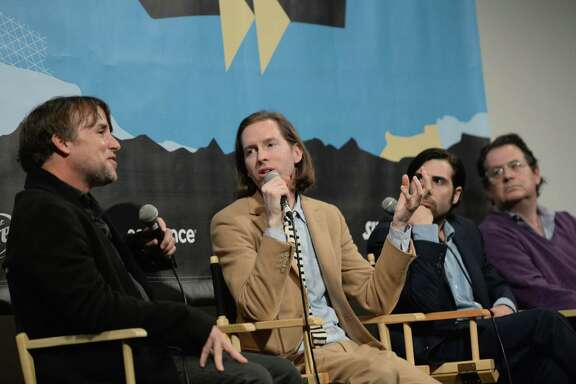Directors Richard Linklater, left, and Wes Anderson were big draws during the 2014 SXSW Music, Film & Interactive Festival on March 10 in Austin.
