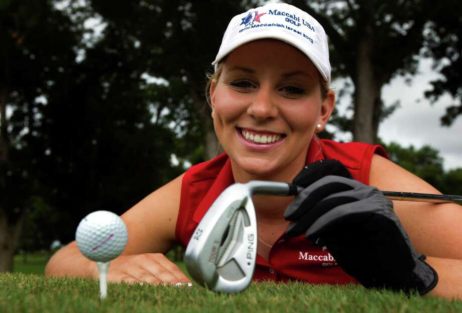 Portland Rosen poses for a portrait at Shadow Hawk Golf Club on Sunday, July 7, 2013, in Richmond  Rosen has been selected as part of Team USA at the 19th Maccabiah Games, an Olympic-style competition that brings together Jewish and Israeli athletes from across the world. ( J. Patric Schneider / For the Chronicle ) Photo: J. Patric Schneider, Freelance / © 2013 Houston Chronicle