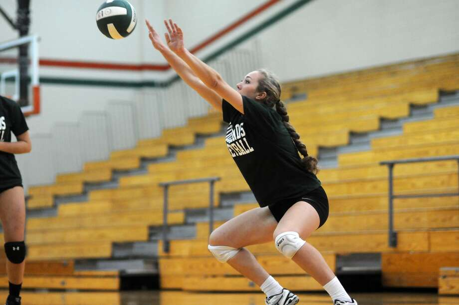 The Woodlands outside hitter Julia Pasch is among a talented crop of returning veterans for the defending state champions. Photo: Jerry Baker, Freelance