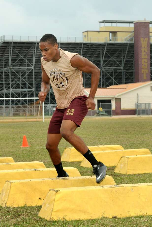 Magnolia West's Demaren Reese is among the key returnees for the Mustangs this season. Photo: Jerry Baker, Freelance