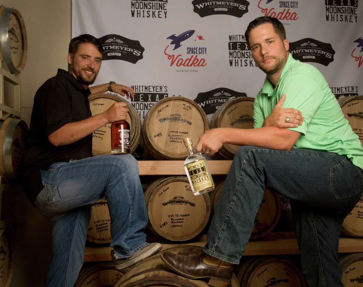 Brothers Travis, left, and Chris Whitmeyer had a dream to craft their own spirits. Now they own and operate Whitmeyer's Distillery in northwest Houston, where they make whiskey and vodka.Photos: More liquors handmade in Houston and throughout Texas ...