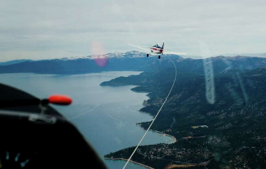 Soaring NV above Lake Tahoe. Photo: Travel Nevada / 2008 Nevada Commission on Tourism