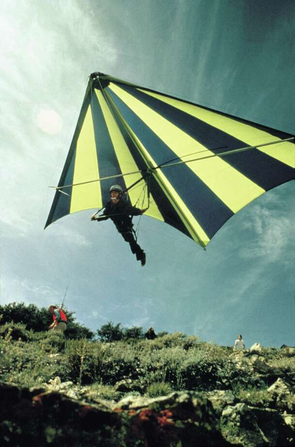 Hang gliding in Nevada. Photo: Travel Nevada