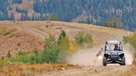 ATV riding in Elko County, NV.