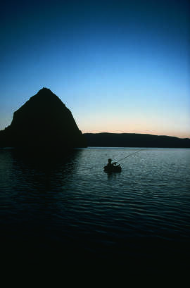 Pyramid Lake, NV.