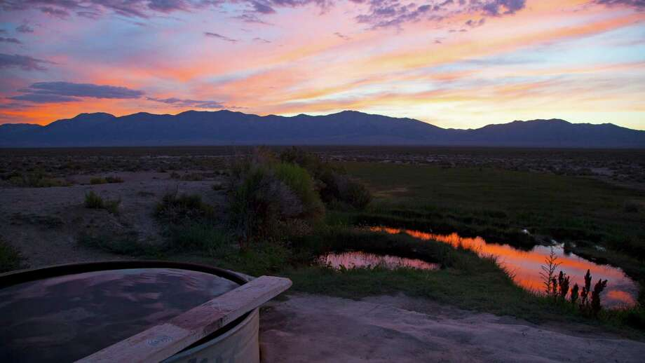 Spencer Hot Springs. Photo: Travel Nevada