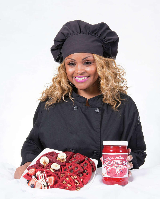 Chef Houston's DeeDee Coleman created DEElicious Red Velvet Waffle Batter.