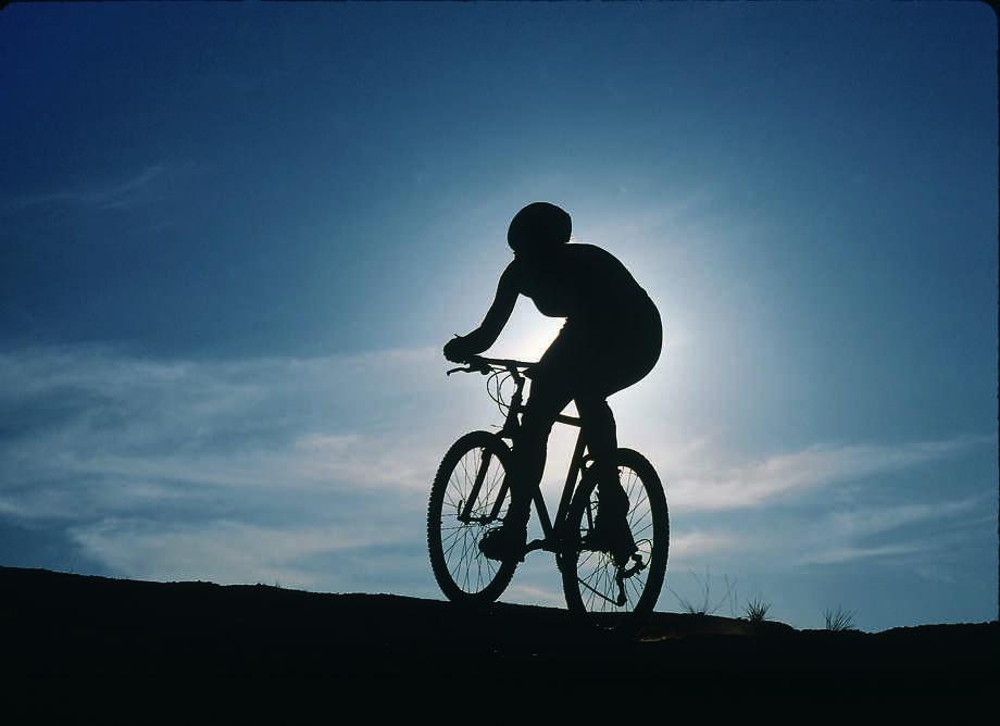 A mountain biker in Nevada. Photo: Travel Nevada