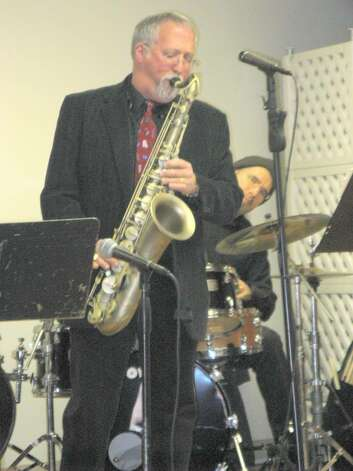 "Bill Harris on saxophone led his group through a medley ""Love Songs"" from Cole Porter, to George Gershwin on Valentine's Day at Nathaniel Witherell. Photo: Anne W. Semmes / Greenwich Citizen"