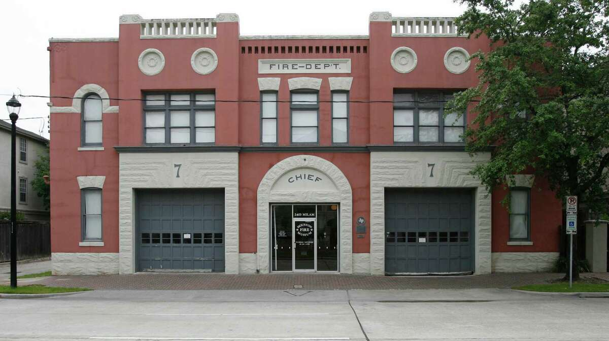 The Houston Fire Museum is housed in Station No. 7, which it leases from the city and hopes to buy. The museum has occupied the building since 1982.