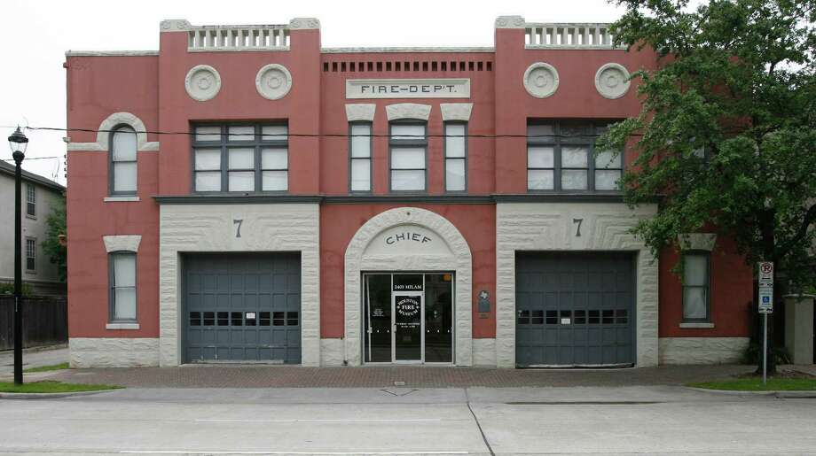The Houston Fire Museum is housed in Station No. 7, which it leases from the city and hopes to buy. The museum has occupied the building since 1982. Photo: Kevin Fujii, Staff Photographer / Houston Chronicle