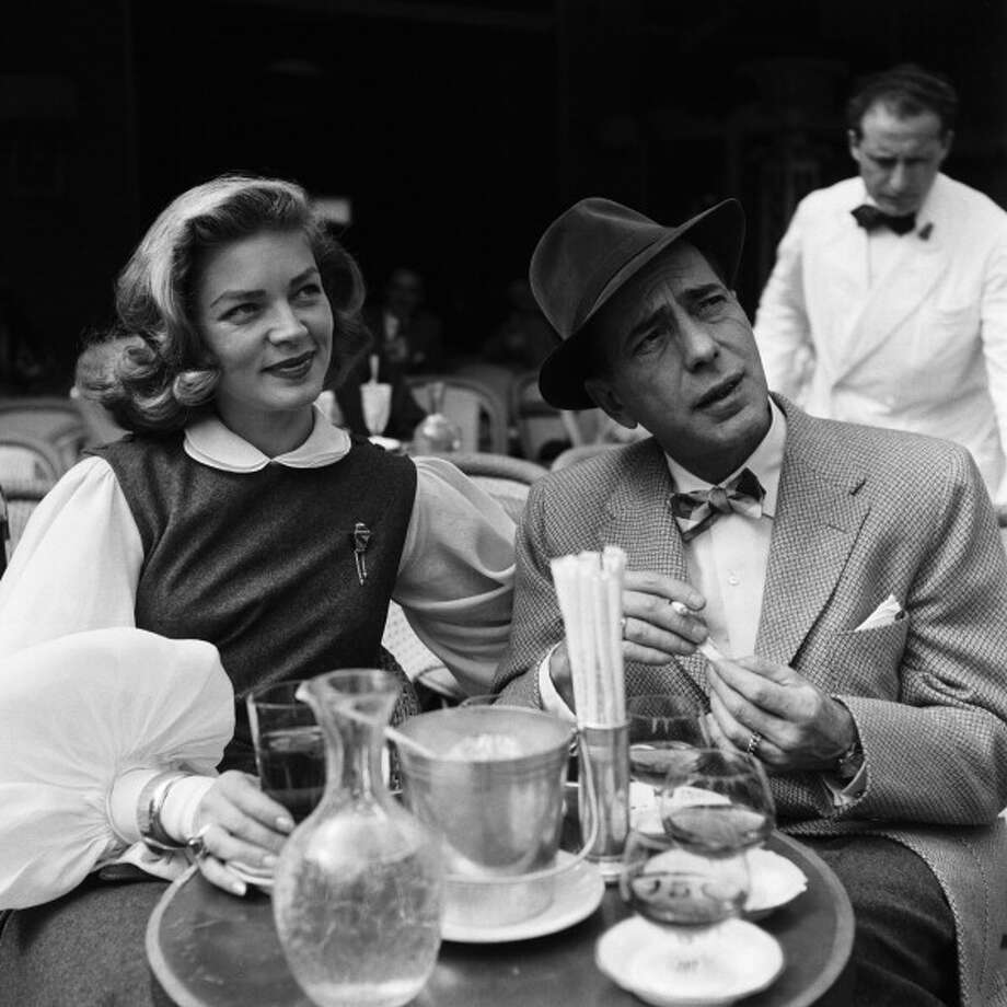 FRANCE - JANUARY 01:  Lauren Bacall and Humphrey Bogart in Paris,France in the 1950s.  (Photo by REPORTERS ASSOCIES/Gamma-Rapho via Getty Images) Photo: REPORTERS ASSOCIES, Gamma-Rapho Via Getty Images / 2011 Gamma-Rapho