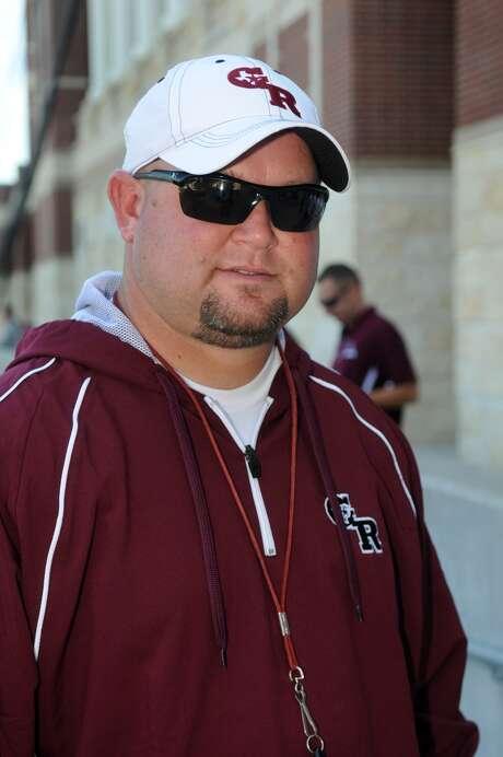 George Ranch Head Football Coach Ricky Tullos Photo: Jerry Baker, Freelance