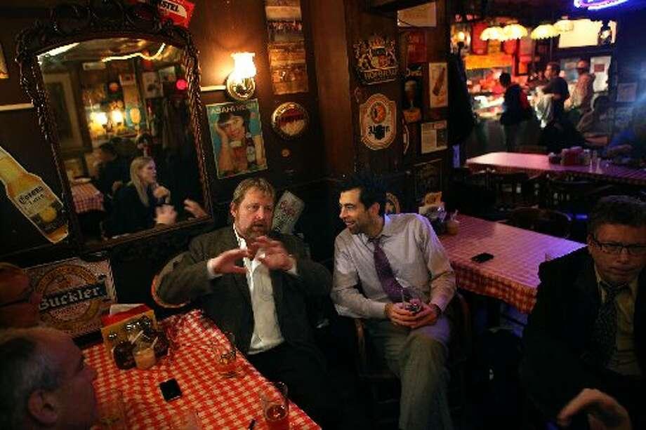 It's a popular after-work spot. Photo: Liz Hafalia/The Chronicle 2011