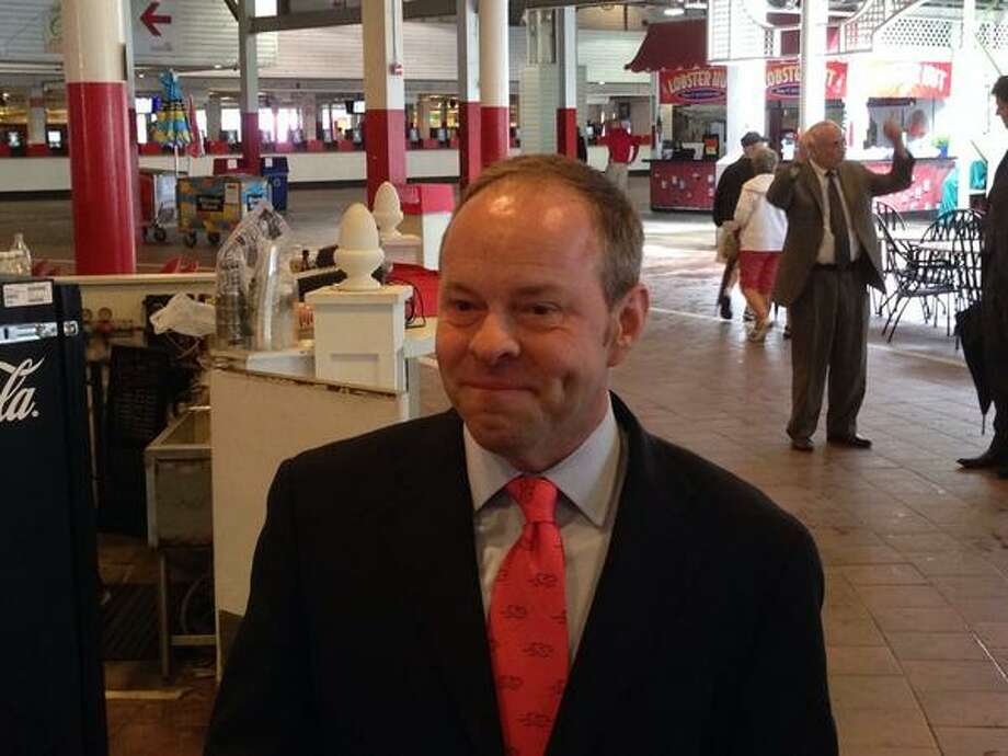 Larry Collmus has been named the new announcer at NYRA (Skip Dickstein / Times Union)