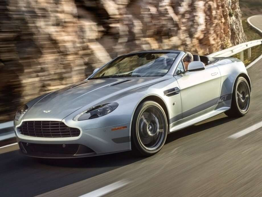 The 2015 Aston Martin V8 Vantage GT Photo: Kelley Blue Book